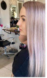 Vaalennuspaketti raidoilla extrapitkä hius